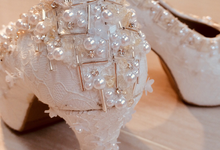Couture wedding and party shoes by Boenga Bridal Couture