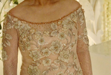 Party dress from Yogie and Angela wedding by Boenga Bridal Couture