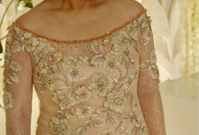 Party dress from Yogie and Angela wedding by Boenga Couture