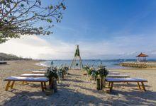 Beach Wedding - Boho Theme by Kayumanis Nusa Dua Private Villa & Spa