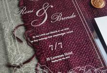Invitation Mr. Roni Wijaya & Ms. Brenda Fransiska by Bond Invitation