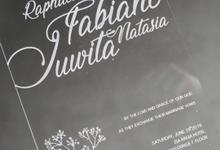 Invitation for Mr. Fabiano and Ms. Juwita by Bond Invitation