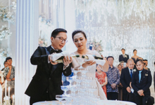 The Wedding of Andri & Mega  by Bonzai Decoration