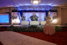 Blue Ice ambiance for Elegant Decor by Bonzai Decoration