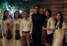 Wedding Reception (feat String) of Michael & Shellyana by DJ Perpi