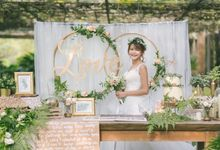 Botanical-themed Styled Shoot by Awesome Memories Photography