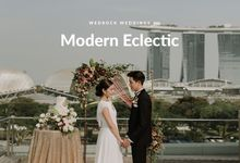 Modern Eclectic 1 by Wedrock Weddings
