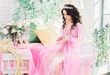 Morning of the Bride by Fancy Bowtique Bridal Couture