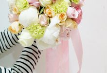 Wedding Flowers by La Bloom Florist