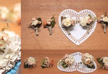 Boutonnieres And Ring Bearer by ESTEBELLA CREATIVE STUDIO