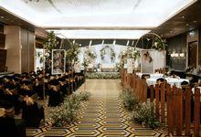 The Wedding of Melisa & Irfan at Ciputra Hotel Cibubur by Decor Everywhere