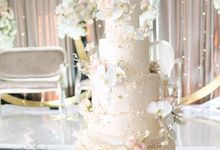 The Wedding of Marten & Stefie by KAIA Cakes & Co.