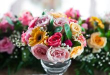 Wedding at Bracha Villa Uluwatu by d'Oasis Florist & Decoration