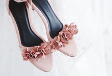 Brides Wedding Shoes / Bridesmaid Gift by Zilia Leather