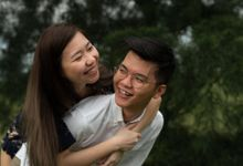 Casual Couple Shoot - Brian & Zishan by The Curious Light Photography