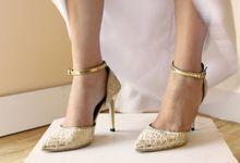 Bridal Lace Shoes by Risqué Designs