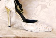 Bridal Lace Shoes by Risqué Designs