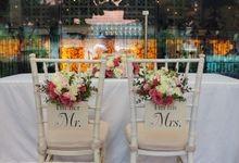 Wedding at Nosh Restaurant by The Olive 3 (S) Pte Ltd