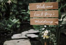 Wedding of Liz & Gary by Lily Wedding Services