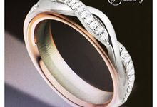 TW & ZY Bespoke Wedding Bands by Vault Fine Jewellery