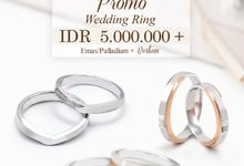 Promo Wedding Ring Start From 5jt by V&Co Jewellery