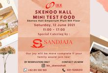 Special Mini Test Food Event at Skenoo Hall Emporium Pluit by IKK Wedding Venue