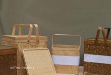 Basket Hampers by Studio Dapur