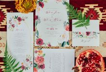 Boho Christmas by Wedrock Weddings