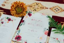Boho Christmas by Everitt Weddings