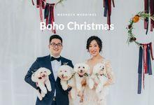 Boho Christmas by Everitt Weddings