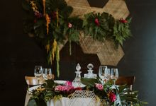 Tropical Wedding Inspirations by Le Meridien Singapore, Sentosa
