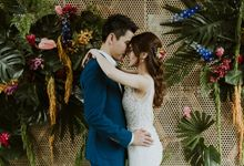 Tropical Wedding Inspirations by Amos Marcus