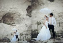 Prewedding Ozy and Yessy by dseries portrait