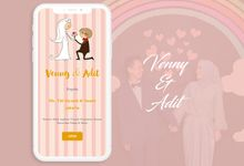 Venny & Adit by Love Invitation