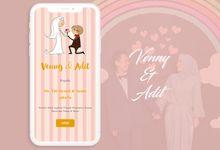 Venny & Adit by Love Invitation