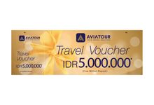 VOUCHER TRAVEL AVIA TOUR - BRIDESTORY IDR 5000000 by Aviatour