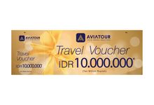 VOUCHER TRAVEL AVIA TOUR - BRIDESTORY IDR 10000000 by Aviatour