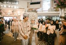 NAMIRA & BAGJA WEDDING by bright Event & Wedding Planner