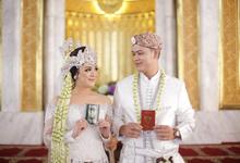 ILMA & ASIB WEDDING by bright Event & Wedding Planner