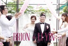 Brion & Li Yin - Garden Wedding Actual Day Cinematic Video by Aplind Yew Production - Wedding Cinematography & Photography