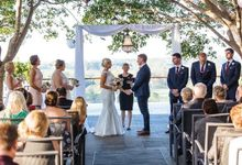 Nick & Jo's wedding at Sirromet Wines by Brisbane Wedding Celebrant Elizabeth Wilkie