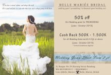 Promo & Package 2015 by Belle Mariee Bridal