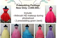 Promo Prewedding Package by Reborn Beauty by Katarina Lidya MUA