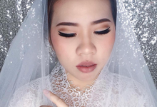 Wedding Makeup for Ms.Helen & Ms.Sherly by Brushed_byyohana