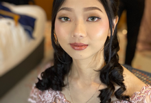 MAKEUP and RETOUCH FOR GROOM'S SISTER by Brushed_byyohana