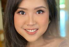 Simple Photoshoot Makeup no contact lens by Brushed_byyohana