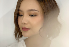 Makeup and Hairdo for Ms.Anita by Brushed_byyohana