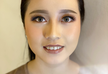 Makeup for Ms.Nazila by Brushed_byyohana