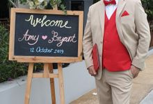 Wedding Bryant & Amy Oct 12th 2019 by Perfect Senses Events
