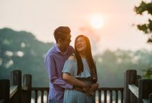 Engagement Session of June and Yonghui (Prewedding Photography Singapore) by oolphoto